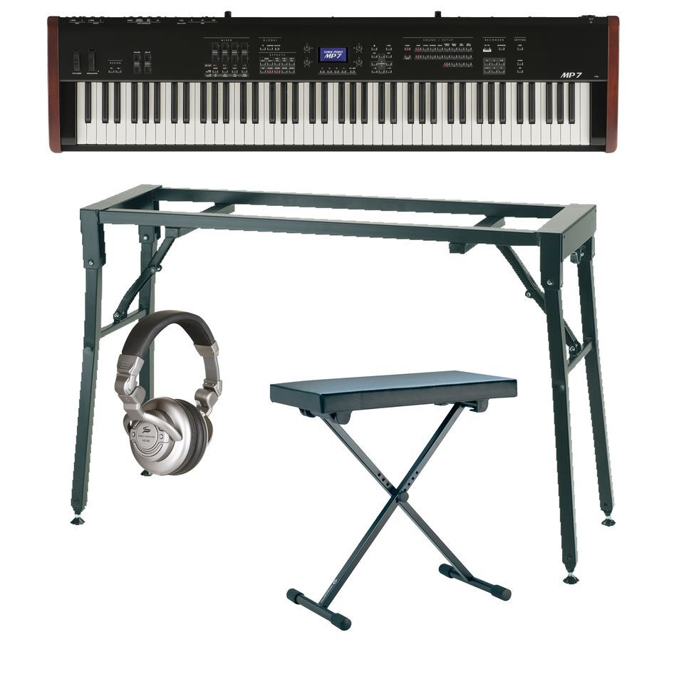 SET KAWAI MP-7 Stage Set inkl.Bank+Tisch+Kopfh+Noten Produktbillede
