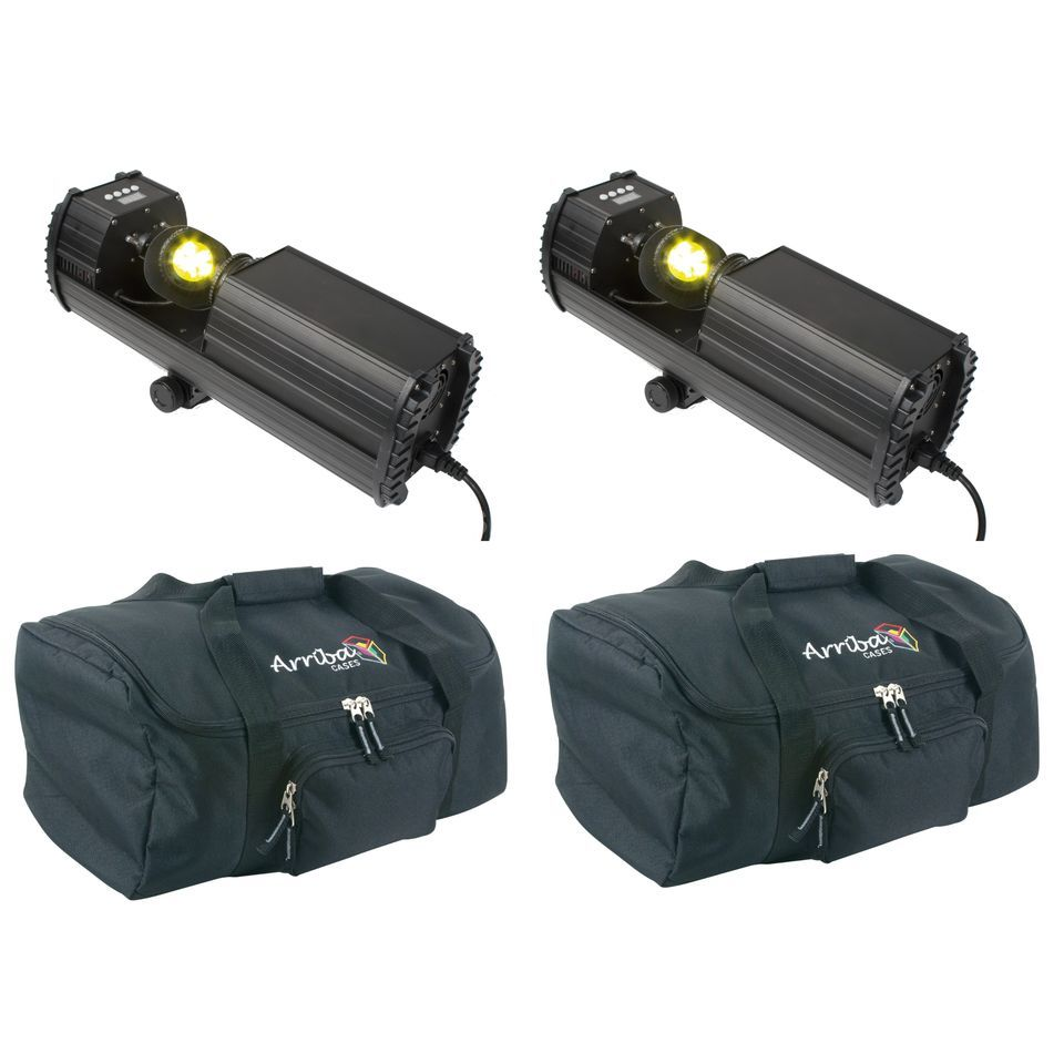 SET LightmaXX DJ Scan LED (2x) inkl. AC-120 Tasche (2x) Produktbild