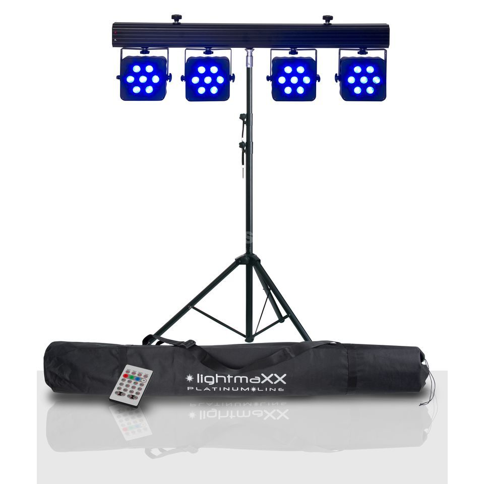 SET LightmaXX Platinum CLS-3 Quad inkl. Stativ und Bag Produktbild