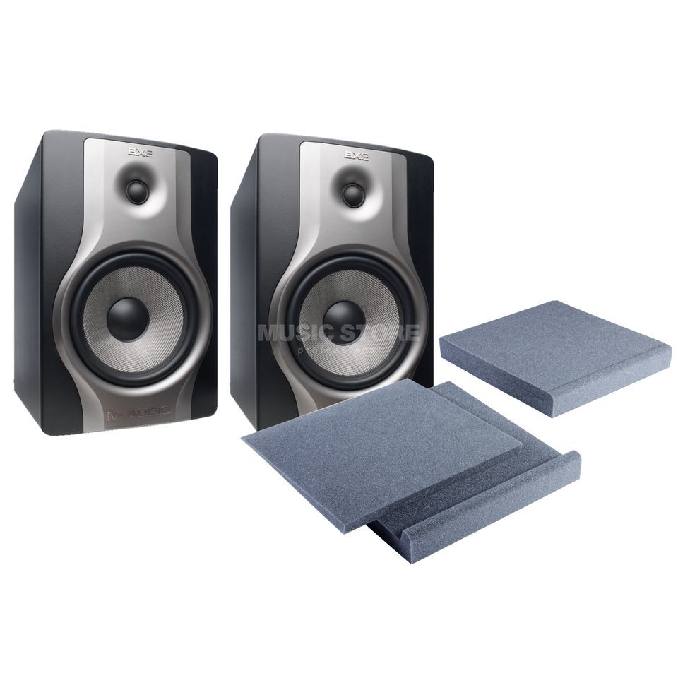 SET M-Audio BX8 Carbon inkl. Speakerpad Set Produktbild