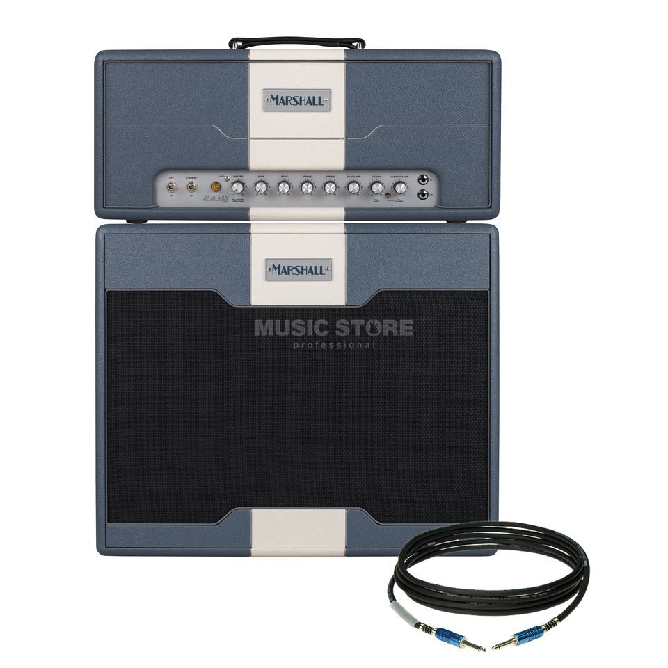 SET Marshall Astoria Dual Head und Cabinet Produktbild