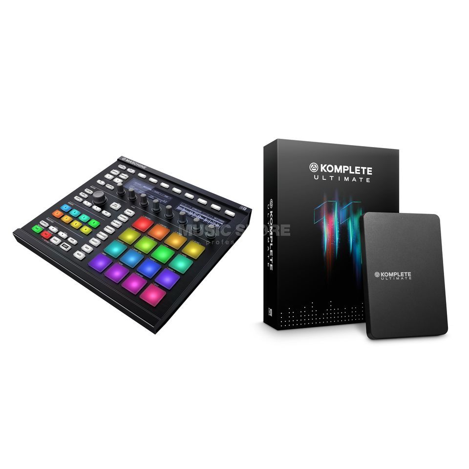 SET MASCHINE MK2 Black + KOMPLETE 11 ULTIMATE UPG 2 Produktbild