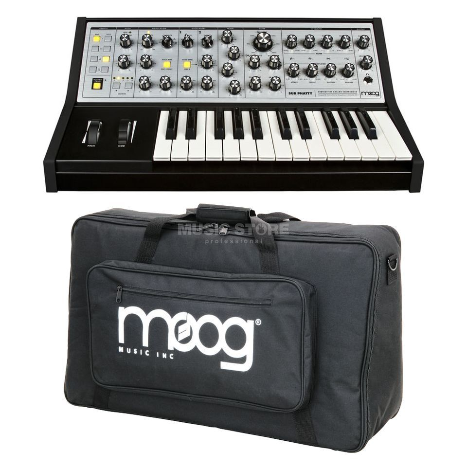 SET Moog Sub Phatty + Gig Bag - Set Produktbild