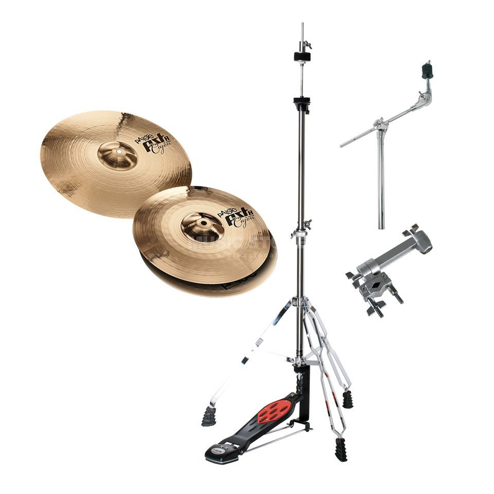 SET PAISTE PST8 Cajon HiHat/Crash Bundle Produktbild