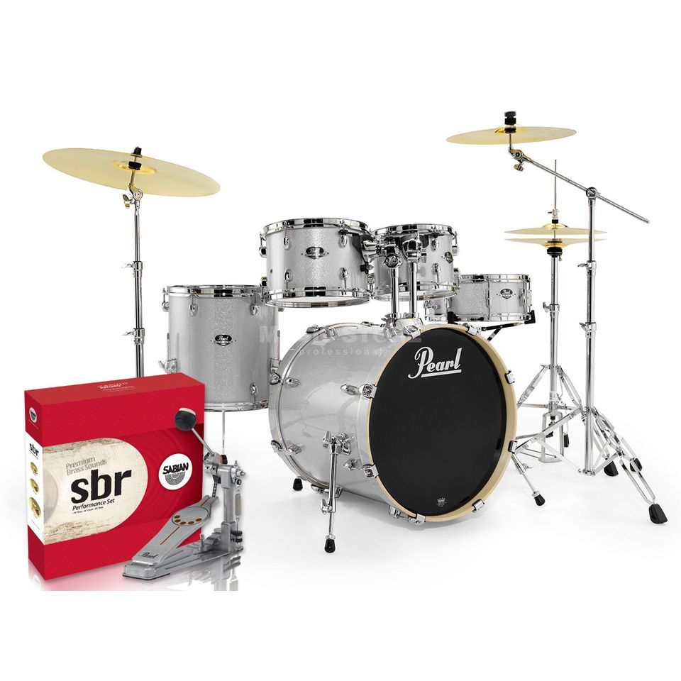 SET Pearl Export 705BR/C-700 inkl. Hocker, Gehörschutz & Sticks Produktbillede