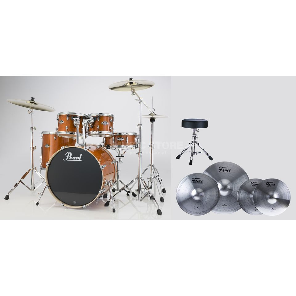 SET Pearl Export Bundle EXX725F249 inkl. Reflex Becken & Hocker Produktbillede
