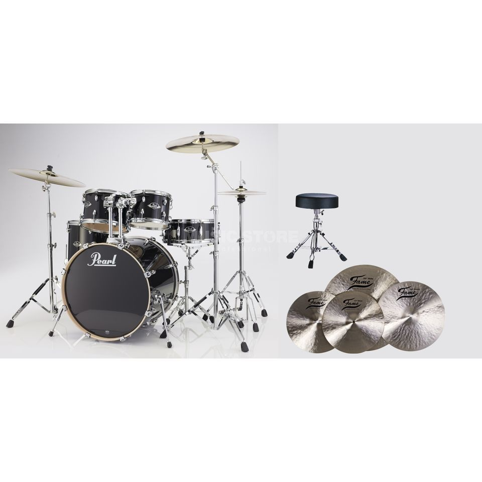 SET Pearl Export Bundle EXX725S248 inkl. B20 Becken & Hocker Produktbillede