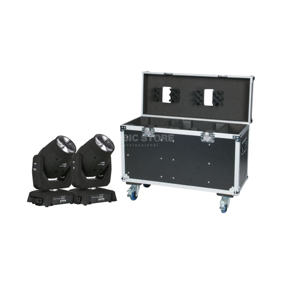 SET Phantom 75 LED BEAM (2x) inkl. Case Produktbillede