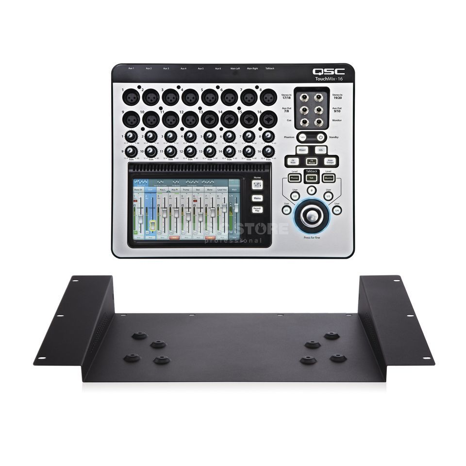 SET QSC TouchMix-16 Digitalmixer inkl. TMR-1 Rack Mount Kit Produktbild