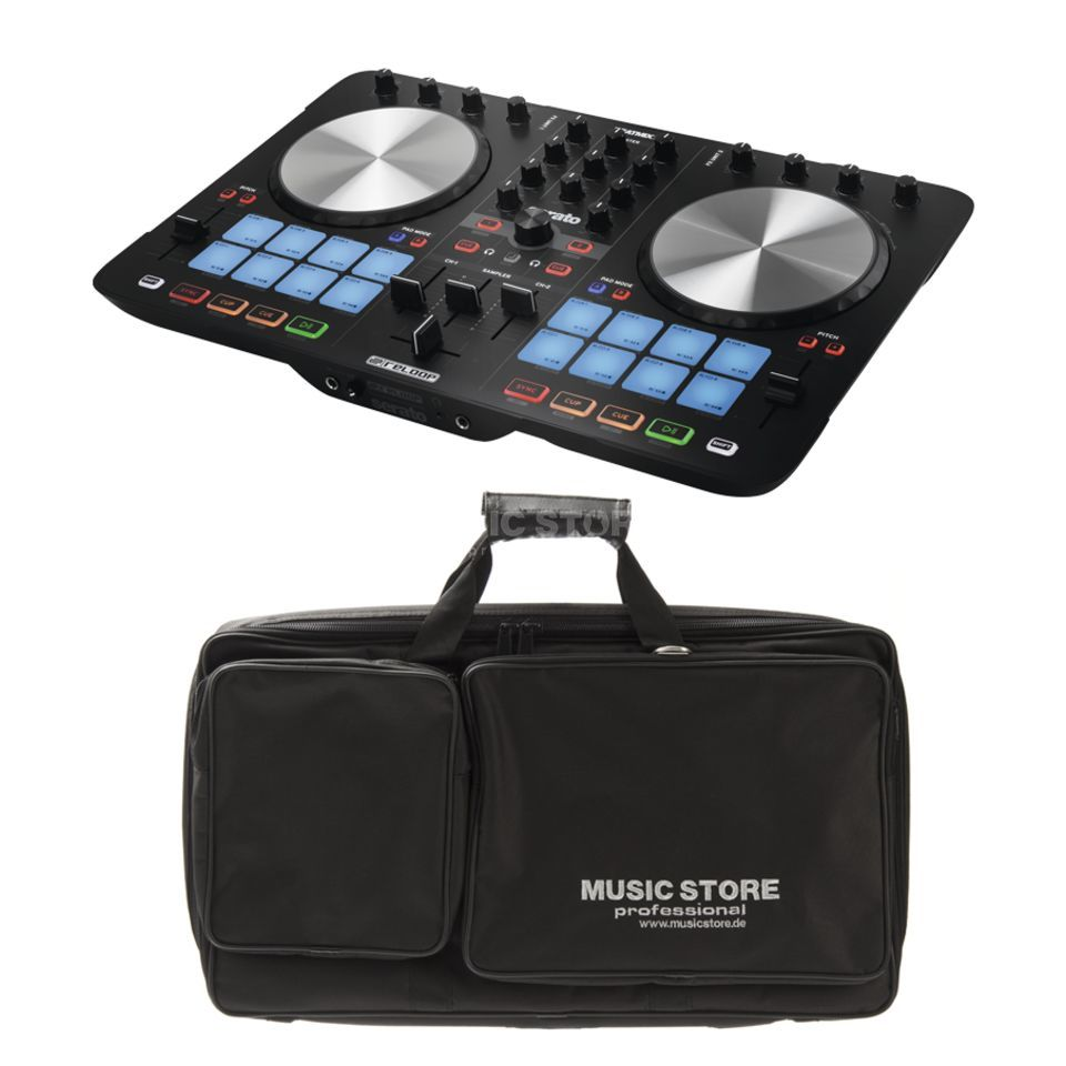 SET Reloop Beatmix 2 MK2 inkl. DJ Controller Bag Medium Produktbild