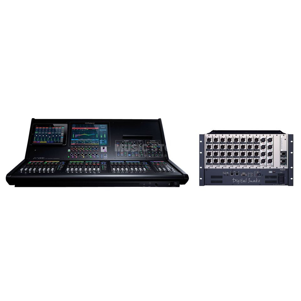 SET Roland M5000 + 1x S-4000S 3208 Stagebox Produktbild