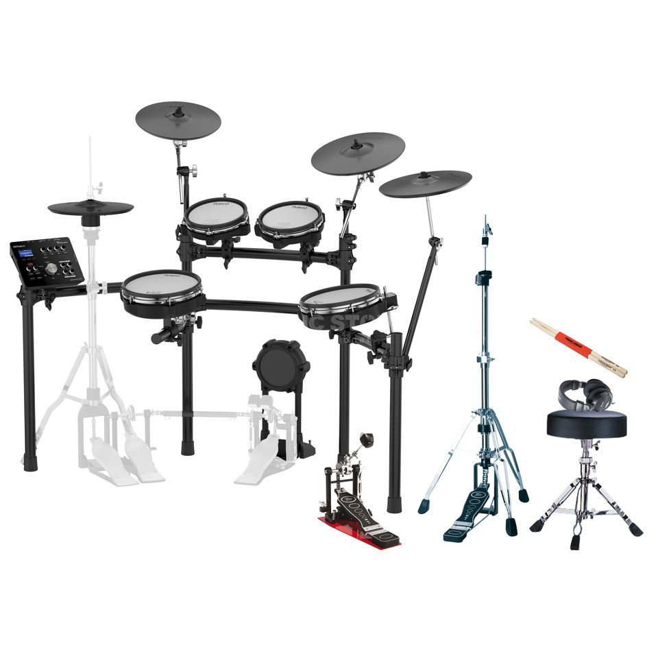 SET ROLAND TD-25KV Bundle I, + Hardware, Kopfhörer & Sticks Produktbillede