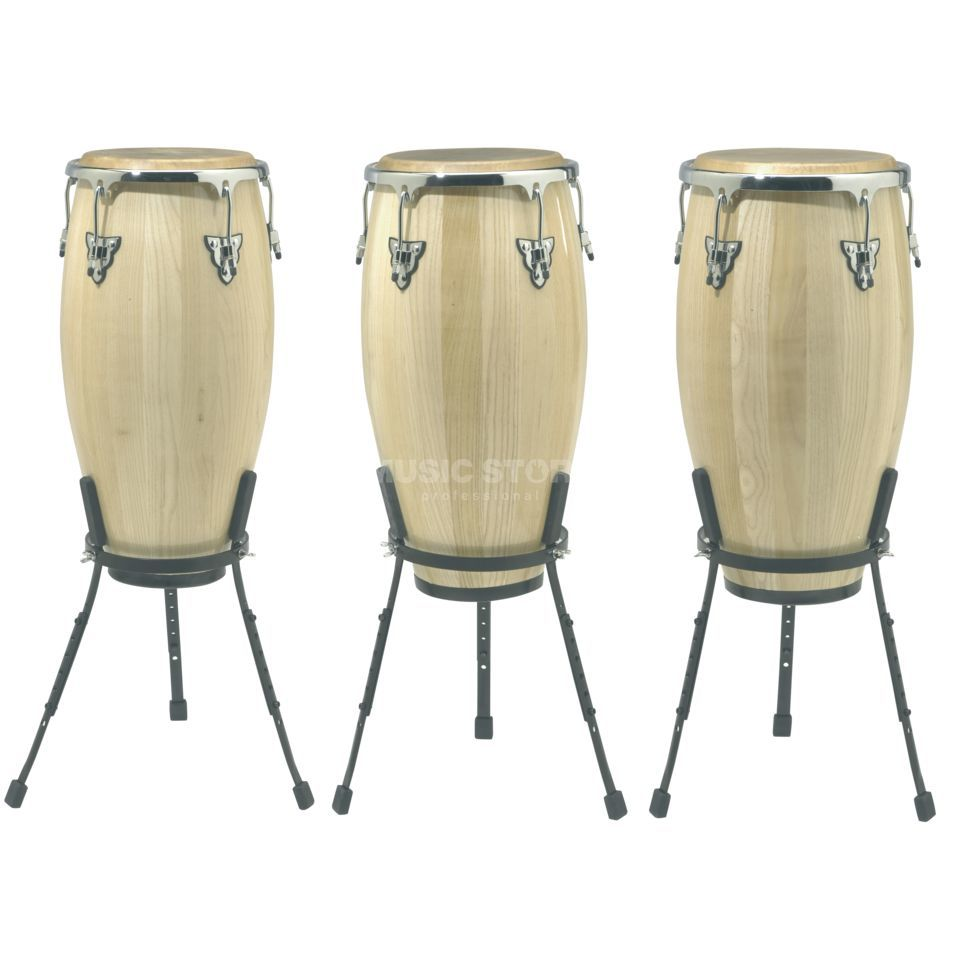 "SET SONOR Champion Conga Set NHG Natural, 11""+11 3/4""+12 1/2"" Produktbild"
