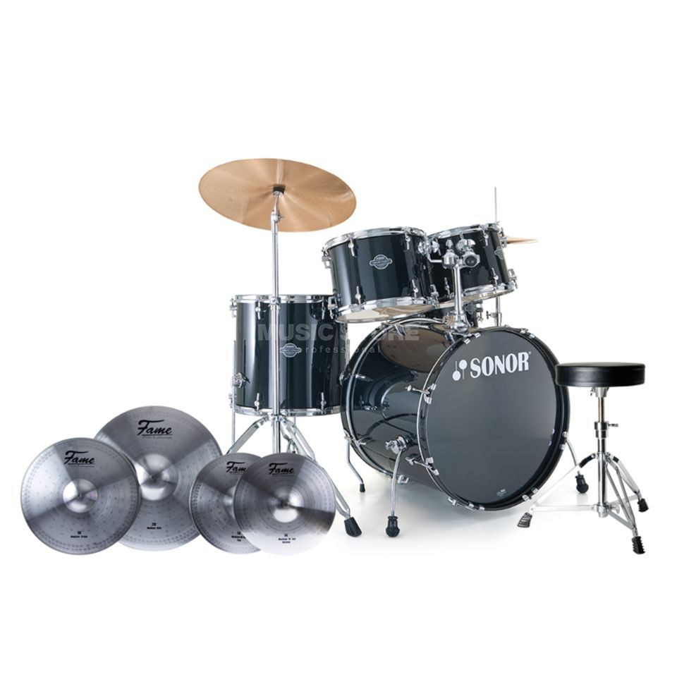SET Sonor Smart Force Stage 2, Inkl. Becken, Hocker & Sticks Produktbild