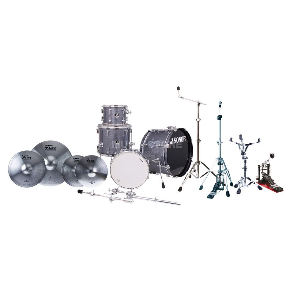 SET SONOR SSE 13 Players inkl. Becken & Hardware Produktbillede