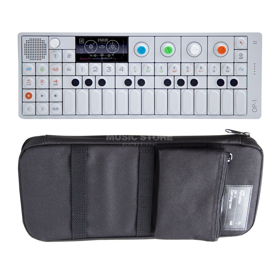 SET TEENAGE ENGINEERING OP-1 inkl. Soft Case Black Produktbild