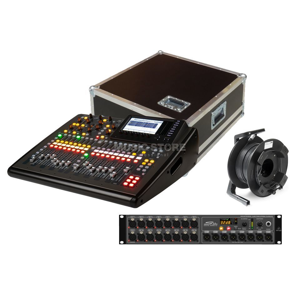 SET X32 Compact TP Stagebox Bundle I Produktbild