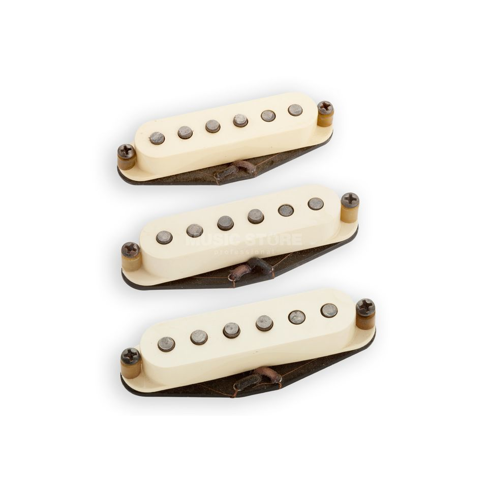 Seymour Duncan Antiquity Texas Hot Strat Set Cream Product Image