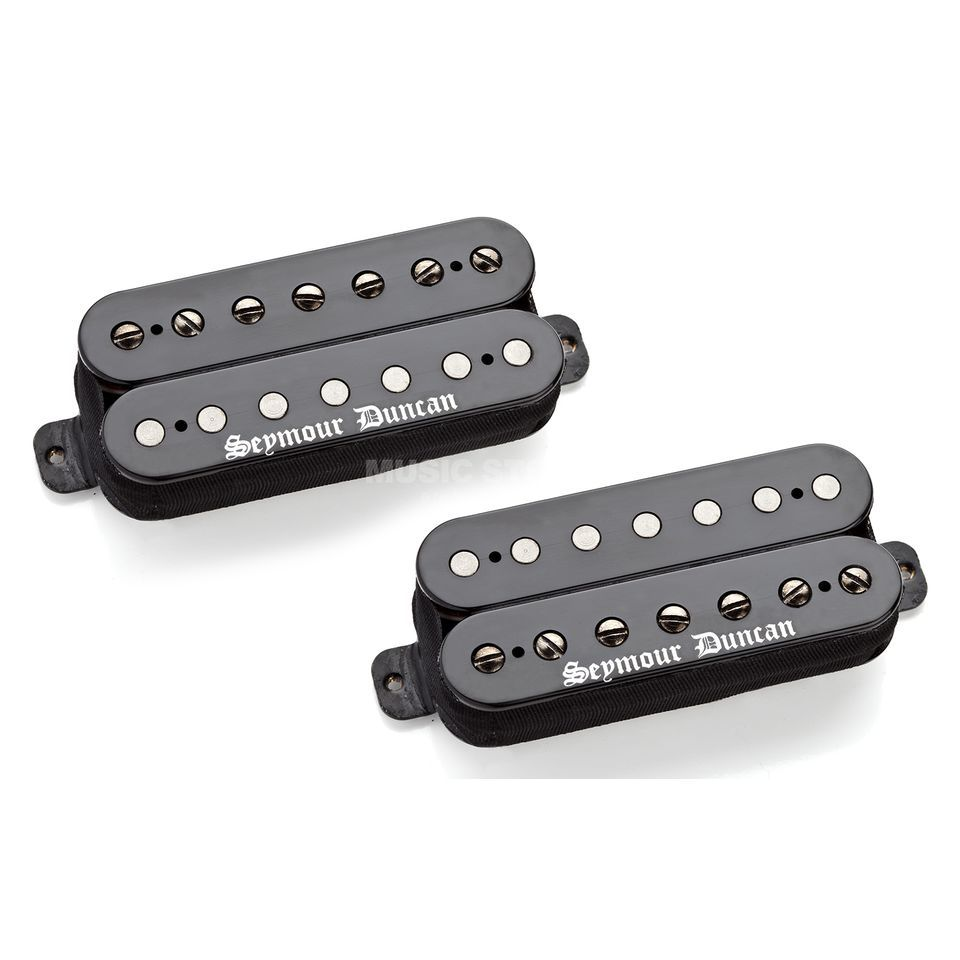 Seymour Duncan Black Winter 7-String Set Black Produktbild