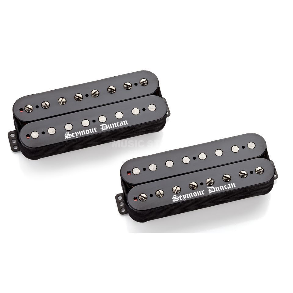 Seymour Duncan Black Winter 8-String Set Black Produktbild