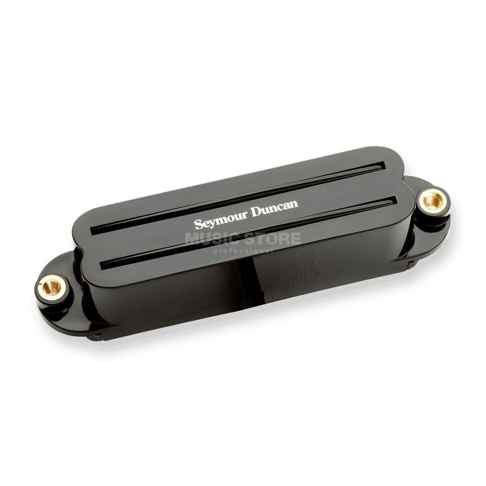 Seymour Duncan Hot Rails Strat Bridge Black Produktbild
