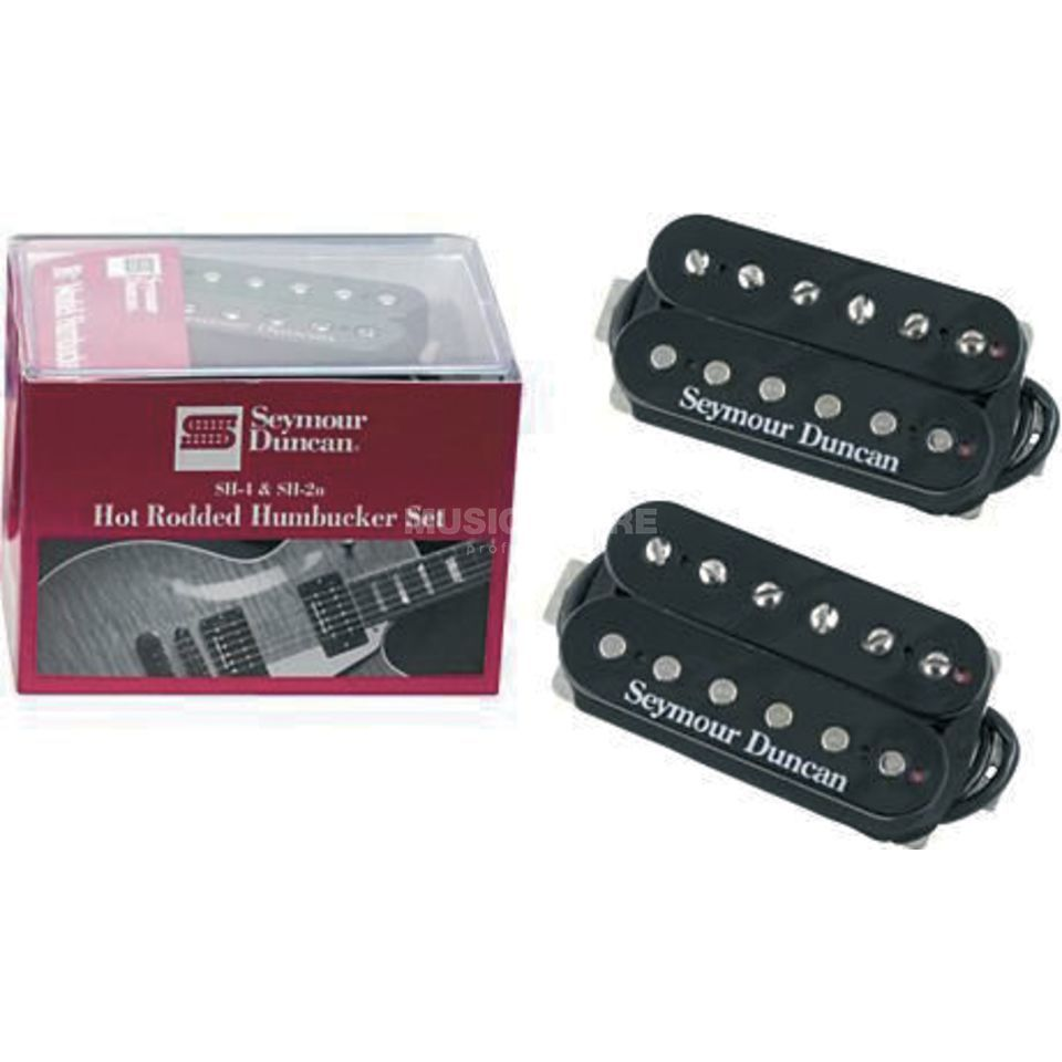 Seymour Duncan Hot Rodded Humbucker SET SH4 und SH2 black Produktbillede