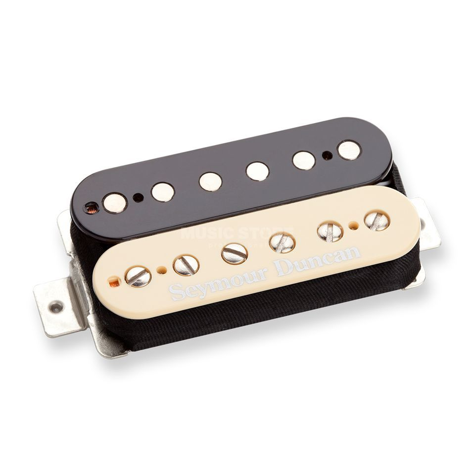 Seymour Duncan Jeff Beck Model SH4 Bridge  zebra 4-adrig Image du produit