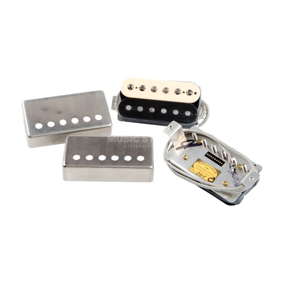 Seymour Duncan Joe Bonamassa Skinner Burst Set Unconvered Zebra Product Image