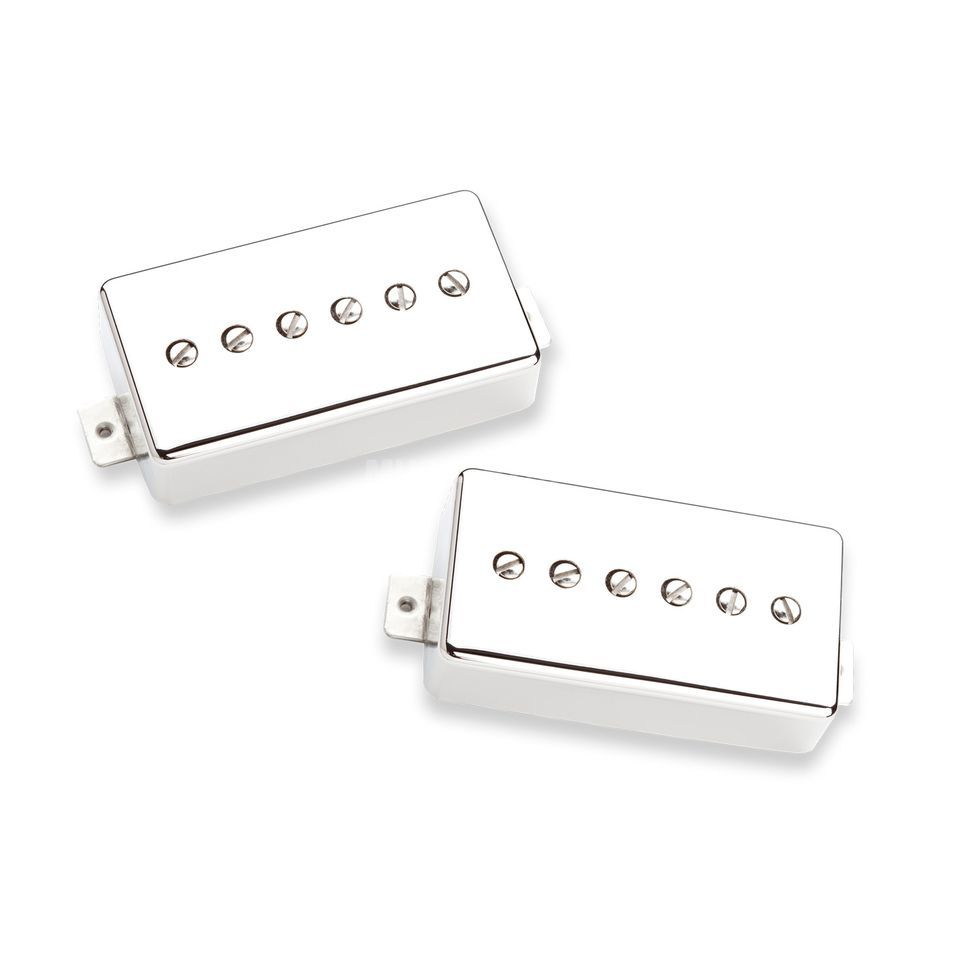 Seymour Duncan Phat Cat P-90, Humbucker Size Set, Nickel Cover Produktbild