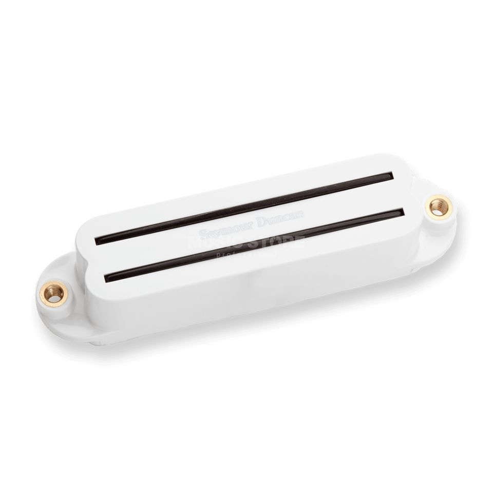 Seymour Duncan SCR-1B Cool Rails Strat Bridge White Produktbild