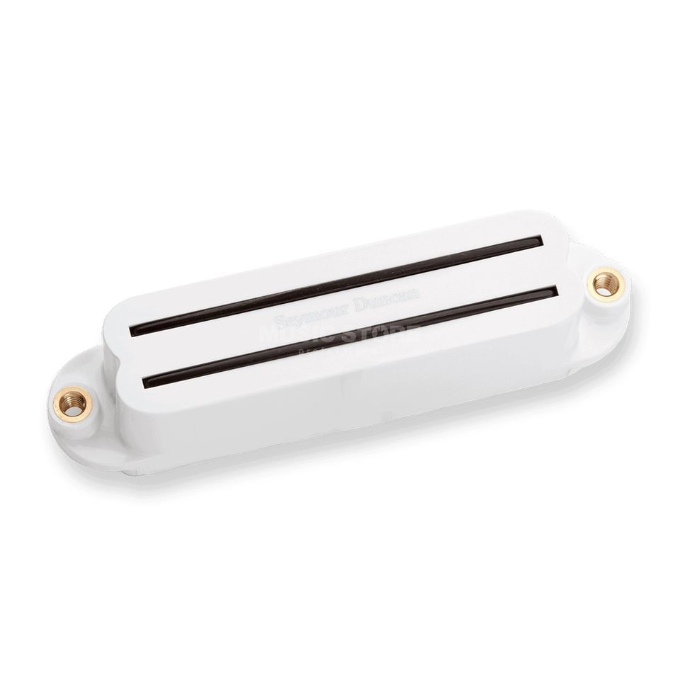 Seymour Duncan SHR-1B WHT Hot Rails Strat wit Bridge Productafbeelding
