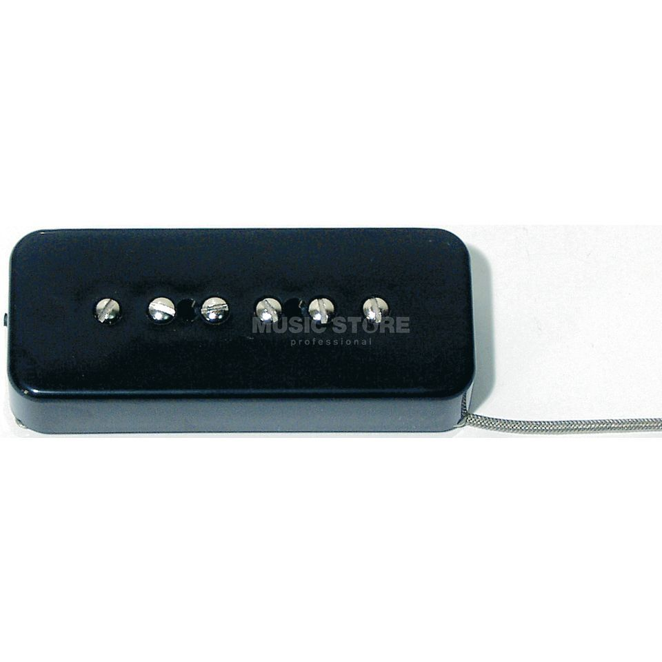 Seymour Duncan SP90-2B BLK Hot Soapbar P90 Black Bridge Produktbild