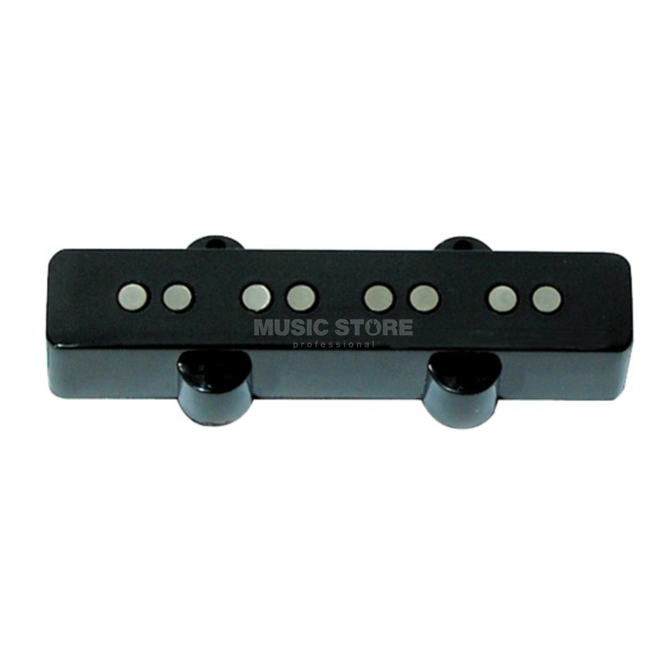 Seymour Duncan SSJB-1N BLK Vintage Jazz Bass Neck Black 2-phase Immagine prodotto