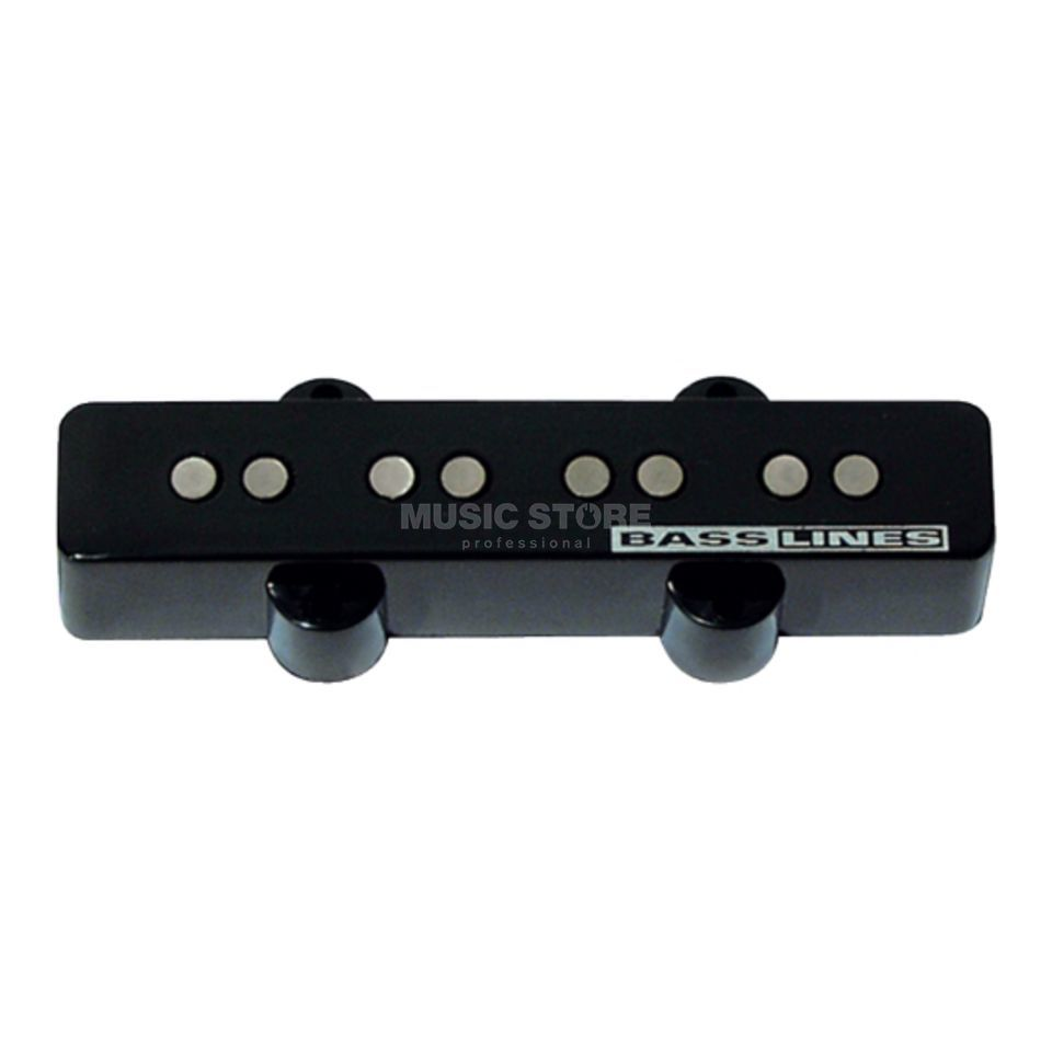 Seymour Duncan SSJB-2B Hot Jazz Bass Bridge Bridge Black 2-phase Immagine prodotto