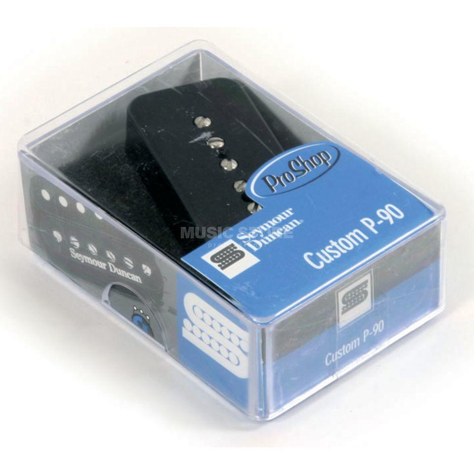 SSP90-3N BLK Custom SoapbarP90 Neck black 2-phase