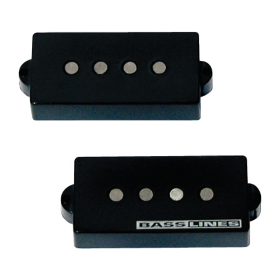 Seymour Duncan SSPB-2 Hot P-Bass black 2-phase Product Image