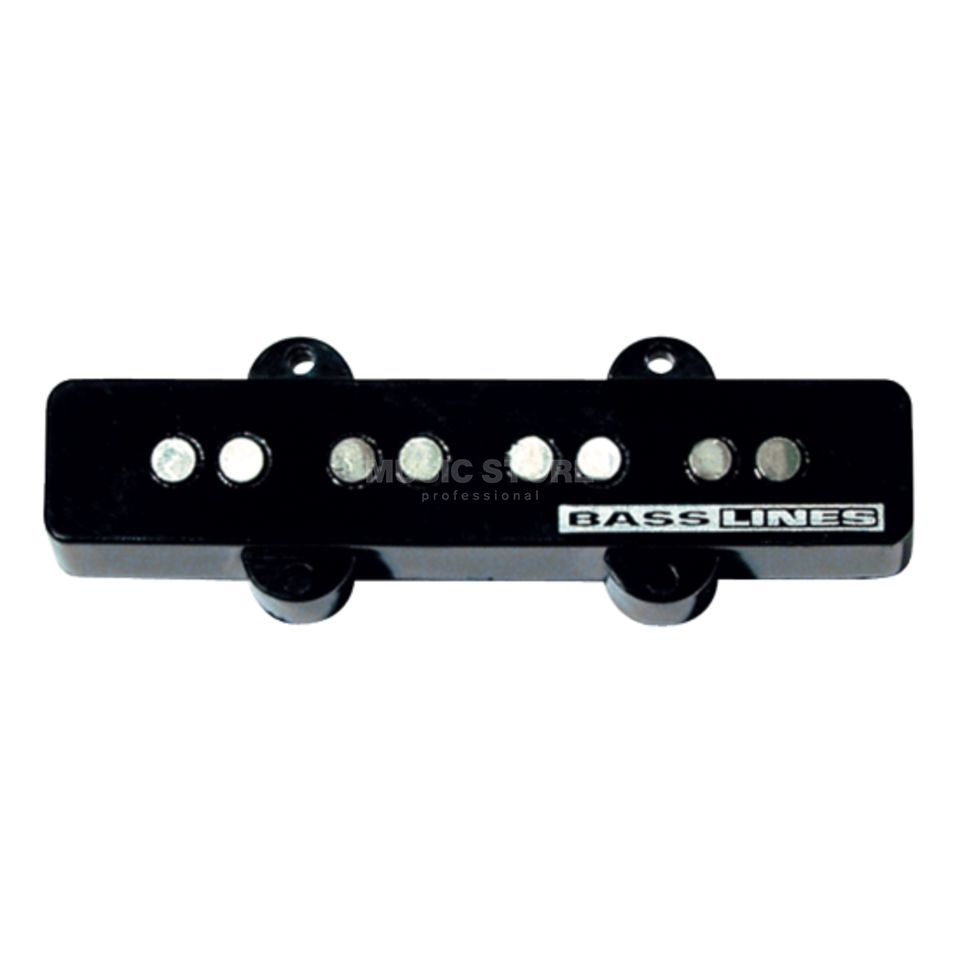 Seymour Duncan SSTK-J2B BLK Hot Jazz Stack Bridge Black 4-phase Product Image
