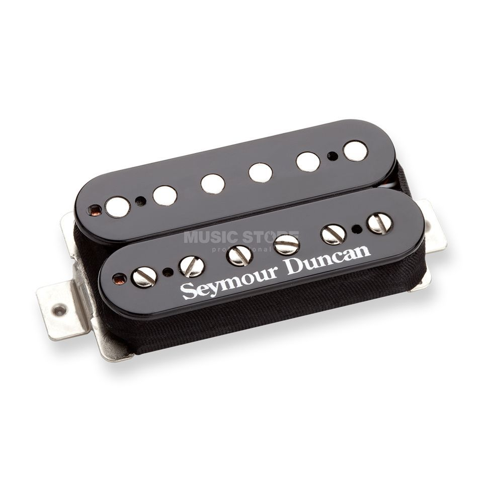 Seymour Duncan STB-6 BLK 4C Distortion Bridge Black Trembucker 4-phase Produktbillede