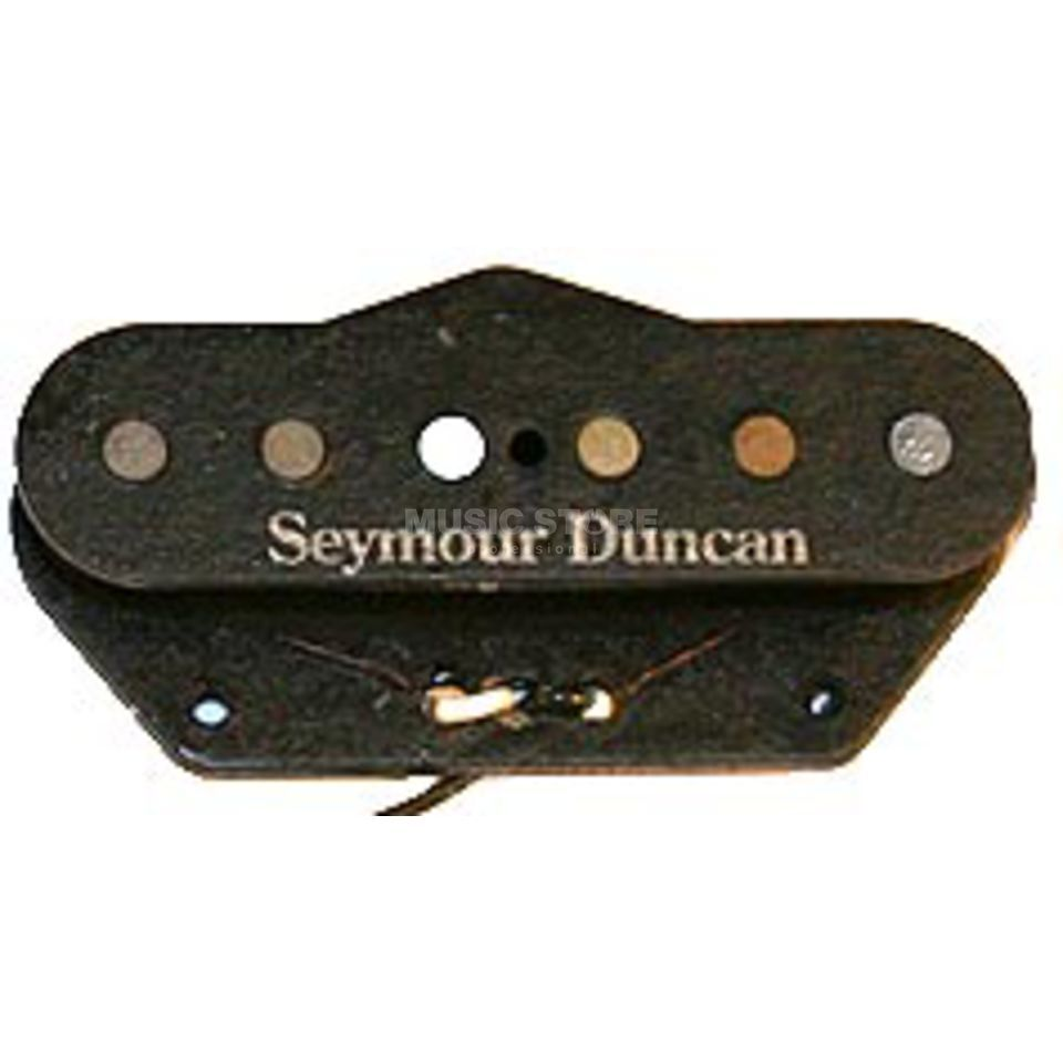 Seymour Duncan STL-2 T BLK Hot Tele Tapped Black Bridge Produktbild