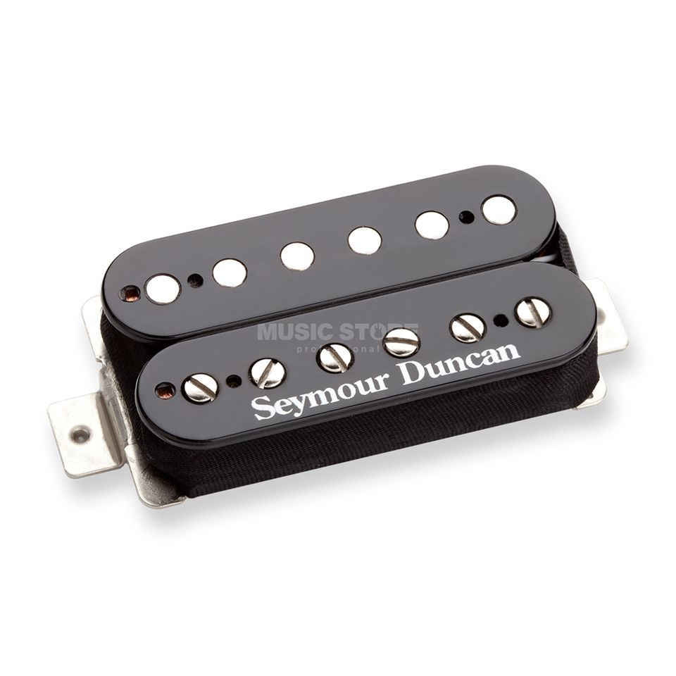 Seymour Duncan TB-PG1B BLK Pearly Gates Trembucker Black Bridge Produktbild