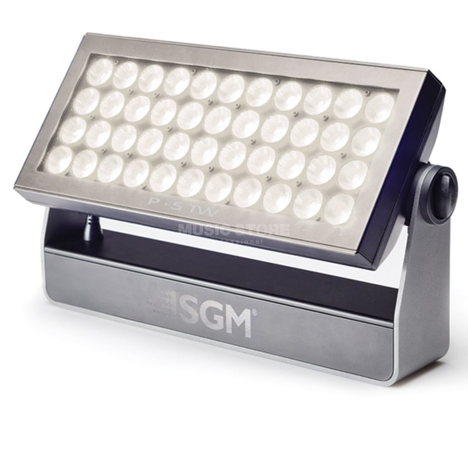 SGM P5 TW Wash Light White 43° 44xW 10W LEDs 2200K-6000K Produktbillede