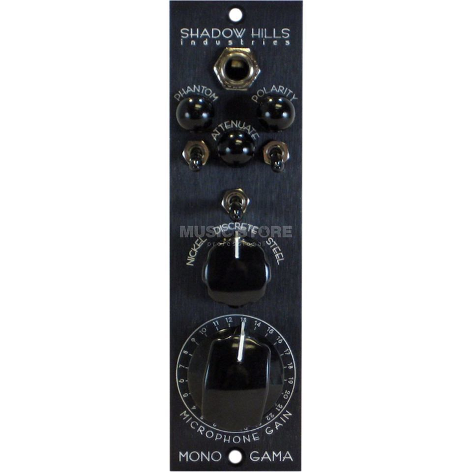 Shadow Hills Industries MonoGAMA Mic Pre 500 Series Produktbild