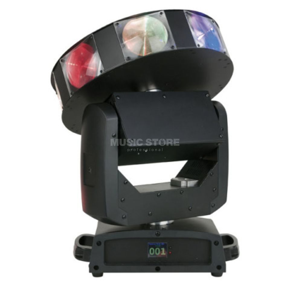 Showtec Astro 360 XL endless Pan/Tilt/Dish, 5° Beam Product Image