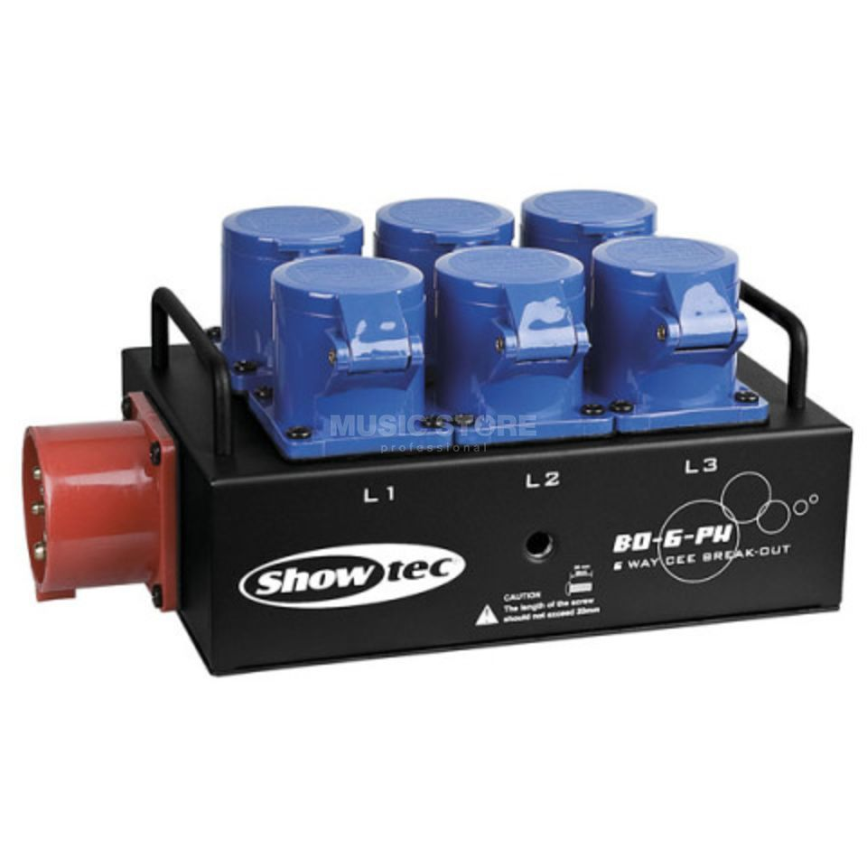 Showtec BO 6 PWC Power Distributor  Produktbillede