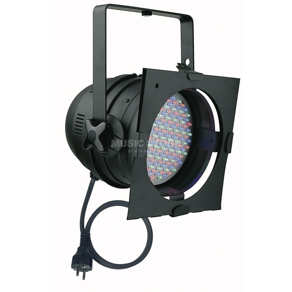 Showtec LED Par 64 RGB Black short Produktbild