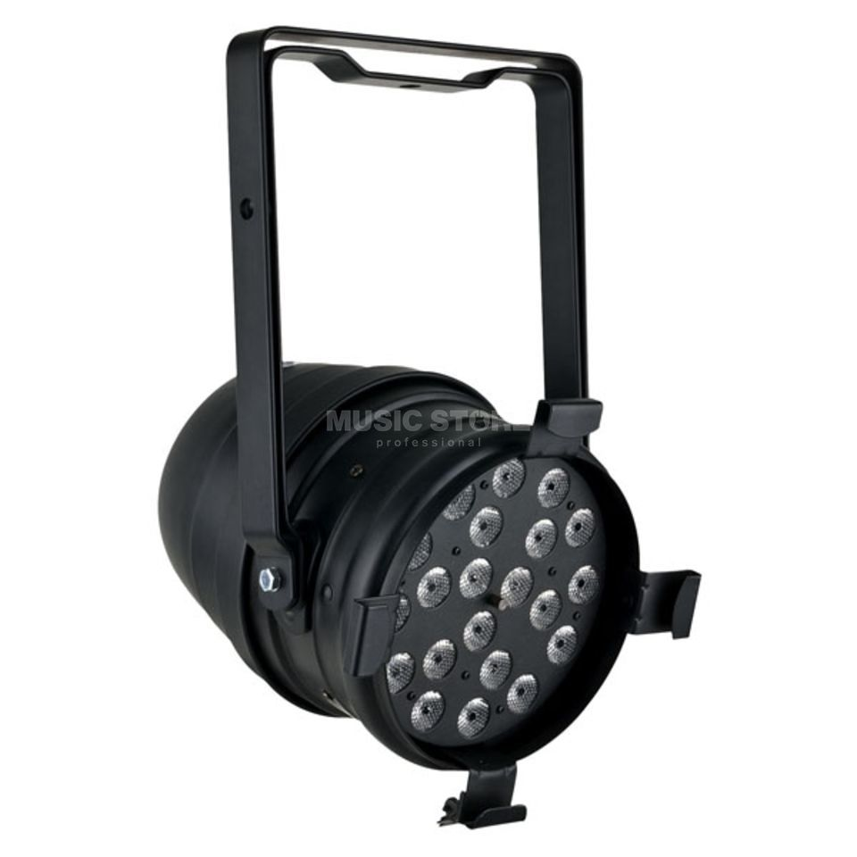Showtec LED PAR 64 Short Black Produktbillede