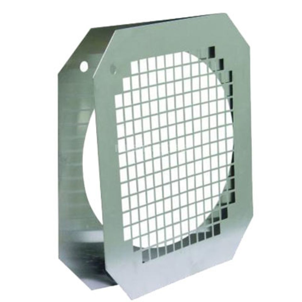 Showtec Par 56 Filter Frame - Polish Short - with Grill Produktbillede