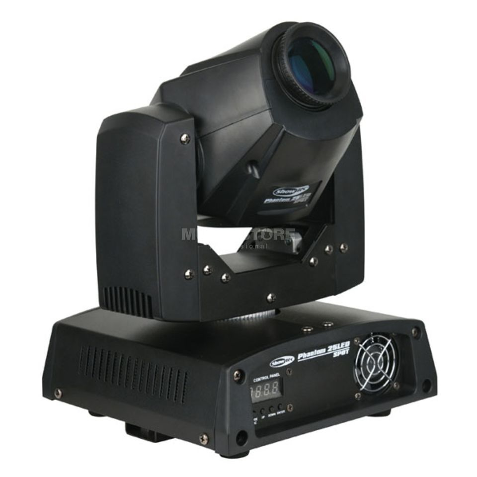 Showtec Phantom 25 LED Spot Moving Head Produktbillede