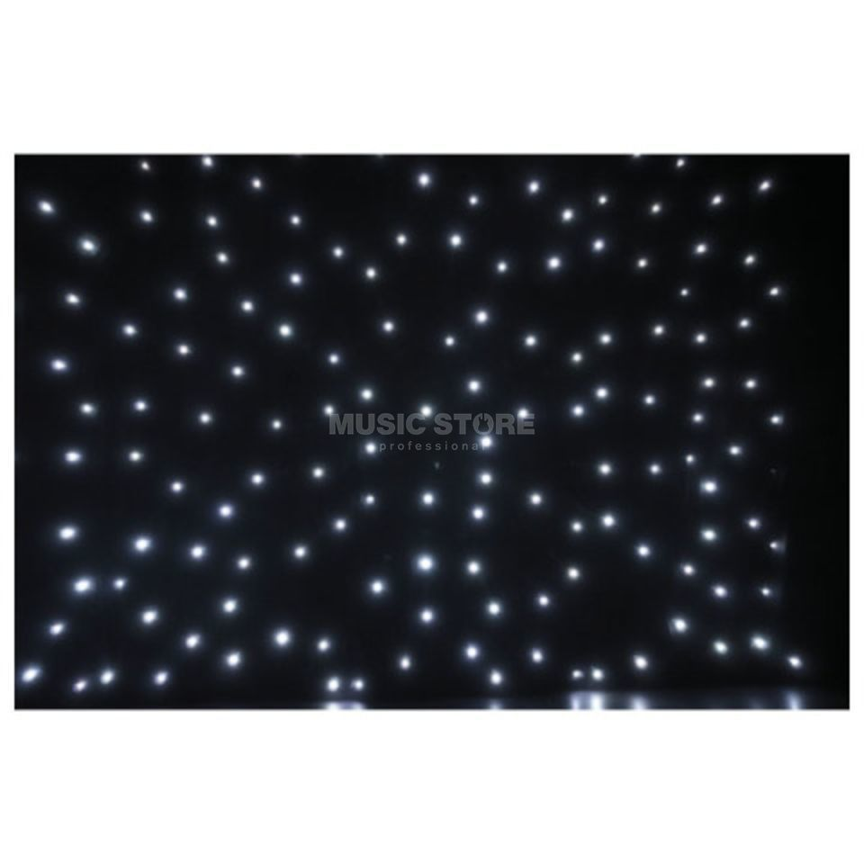 Showtec Stardrape White LED 3x 6m, inkl. Controller & Bag Изображение товара