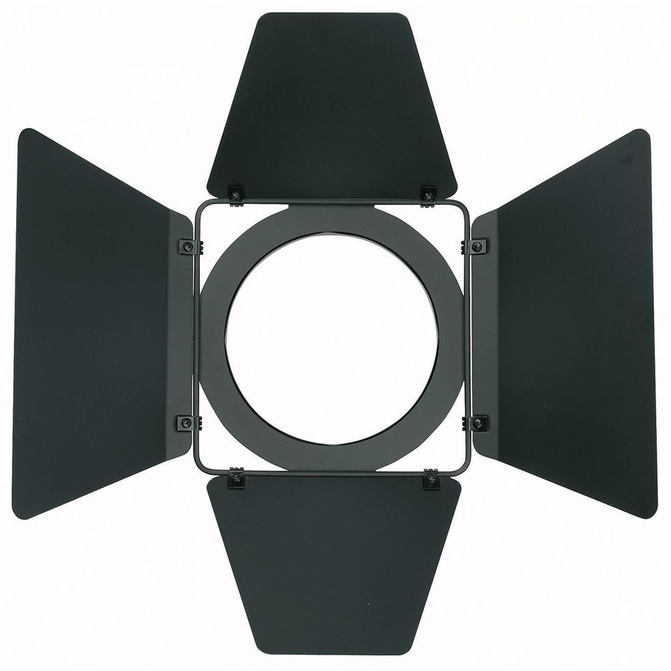 Showtec Studio Beam Barndoor black   Produktbillede